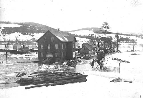 Hanover Dowel Mill in March 1896